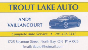 Logo de Trout Lake Auto